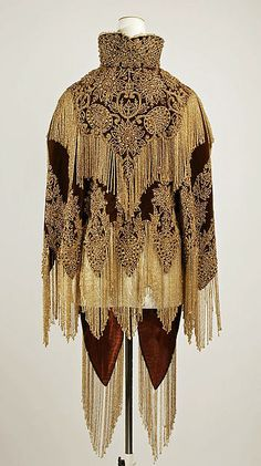 Cape (back view)  Date: 1880s Culture: probably American Accession Number: C.I.43.90.46a, b