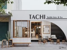 Search projects | Photos, videos, logos, illustrations and branding on Behance Restaurant Exterior Design, Bar Restaurant Design, Cafe Exterior, Architecture Restaurant, Interior Exterior, Restaurant Facade, Cafe Shop Design, Coffee Shop Interior Design, Design Café