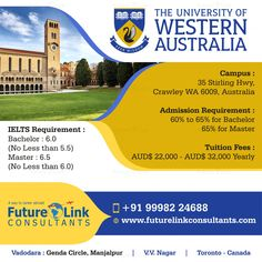 Choose Australia for your In Australia at The University of Western Australia and make your future shine. To apply, Call 999 822 Colleges In Australia, Master Of Laws, Toronto, Western University, Visa, Ielts, Study Abroad, Western Australia, Career