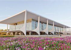 Palácio do Planalto/Oscar Niemeyer em Brasília