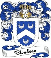 Blondeau Coat of Arms  Blondeau Family Crest   VIEW OUR FRENCH COAT OF ARMS / FRENCH FAMILY CREST PRODUCTS HERE