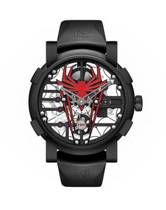 Arachnophilia: Romain Jerome Swings Into Action With RJ x Spider-Man Limited Edition Romain Jerome, Amazing Watches, Cool Watches, Men's Watches, Unique Watches, Oversized Watches, Limited Edition Watches, Latest Jewellery, Luxury Watches For Men