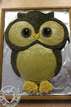 How To Make Owl Cake !   Just Imagine - Daily Dose of Creativity