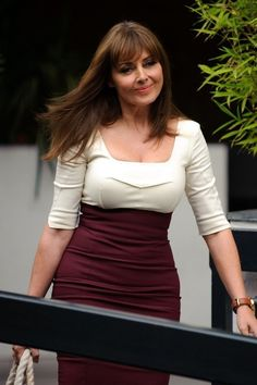 Carol Vorderman at Loose Women Studios, London on June 10, 2013