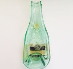 Topo Chico Upcycled bottle  spoon rest candy dish by LotsaShimmer, $10.00