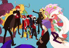 Pokemon Champions and Trainers Pokemon Mew, Gold Pokemon, Pokemon Pins, Pokemon Images, Pikachu, Otaku, Pokemon Champions, Pokemon People, Pokemon Special