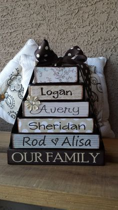 Personalized Stacked Blocks