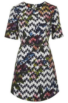 Blurred Jacquard A-line Dress - New In This Week - New In