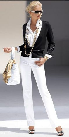 tendencias de moda: Los mejores outfits de moda para mujer en este verano Take a look at the best casual outfits for ladies in summer in the photos below and get ideas for your outfits! Spring Fashion Trends, 50 Fashion, White Fashion, Fashion Models, Fall Fashion, Ladies Fashion, Spring Trends, Trendy Fashion, Style Fashion