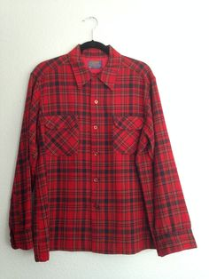 30% Off Cyber Monday Sale Vintage Pendleton Shirt by TheThriftCat