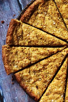 This salted pistachio shortbread is made rich with the nutty flavors of pistachios that is balanced with a flaky sea salt finish. Best Dessert Recipes, Fun Desserts, Healthy Vegetarian Meal Plan, Vegan Baking, Holiday Baking, Cookies Et Biscuits, Bar Cookies, Popular Recipes, Shortbread