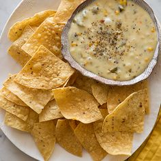 A recipe for Roasted Poblano Queso Fundido. Perfect for game day!