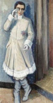 Skådespelerskan of Agnes Cleve
