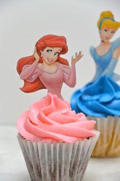 Ariel mini cupcake