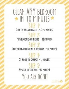 bedroom cleaning on pinterest bedroom cleaning tips organising tips