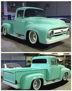 Have a look at the detailing and trim on this particular beautiful 1956 Ford Truck, Ford Pickup Trucks, 1954 Ford, Classic Ford Trucks, Classic Cars, Cool Trucks, Cool Cars, Panel Truck, Old School Cars