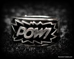 Stan Lee POW Collectible Ring (Limited Edition) | Mandatory Merchandise USA