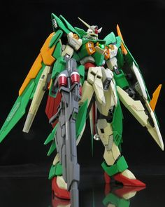 Gundam Fenice Rinascita is one of many beautiful mobile suit out there and so did this work of Gundam Fenice Rinascita by Final Stage ...