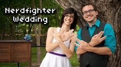 Nerdfighter Wedding - so much geekery & happiness.
