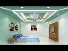 Best False Ceiling Designs - Simple Ideas design For Bedroom, Living room, Kitchen   Gypsum Board - YouTube