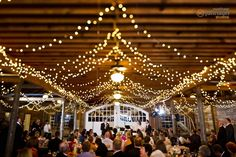 Cool reception barn lighting.  You can never have too much lighting at a reception from a photography standpoint.