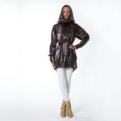 Lower East Side Parka Chocolate, $320, now featured on Fab.