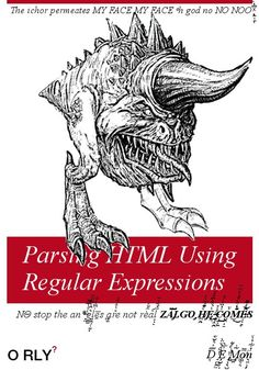 Parsing HTML Using Regular Expressions