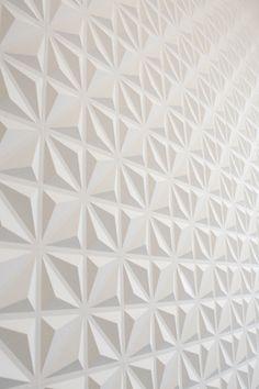 Panneau muraux en 3D, à peindre.  Super rendu et acoustique http://www.sklepdecor.pl