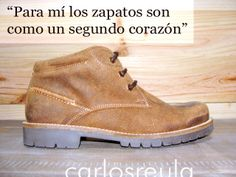 """""""For me shoes are like a second heart"""": http://carlosreula.com/blog/?p=1676"""