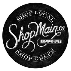 Shop Main #logo by Pretty/Ugly Design / #typography