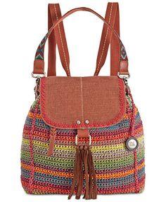 The Sak Avalon Crochet Backpack - Handbags & Accessories - Macy's