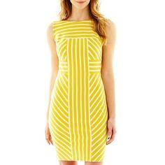 Sleeveless Shift Dress | jcpenney