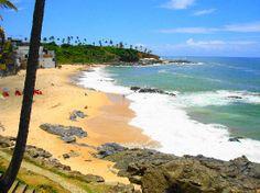 Rio Vermelho beach ~ Salvador,  Brazil