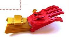 Prótesis de mano por impresión 3D para un menor inspirada en Iron Man