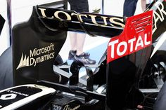 Round 2, Petronas Malaysian Grand Prix 2013, Preview, Lotus F1 Team, Rear Wing Detail