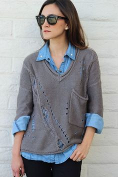 Fashion: trends, outfit ideas, what to wear, fashion news and runway looks Knitting Designs, Get Dressed, Pretty Outfits, Knitwear, Summer Outfits, Summer Clothes, What To Wear, Creations, Sweaters For Women
