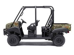 New 2017 Kawasaki Mule 4010 Trans4x4 Camo ATVs For Sale in New York. The Mule 4010 Trans4x4® Camo Side x Side with Realtree Xtra® Green Camo pattern exudes the outdoor sportsman lifestyle. This versatile mid-size four-passenger workhorse is well equipped to put in a hard day of work and support hunting and fishing adventures.617 cc fuel-injected, V-twin engine produces reliable performanceConvertible design lets you easily change from a four-seat crew mover to a two-seat cargo hauler…