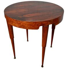 Scapinelli Side Table | From a unique collection of antique and modern side tables at https://www.1stdibs.com/furniture/tables/side-tables/