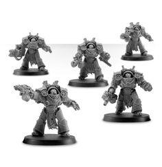 Death Guard Grave Warden Terminators