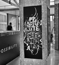 Passionate about Creativity. Typography Poster