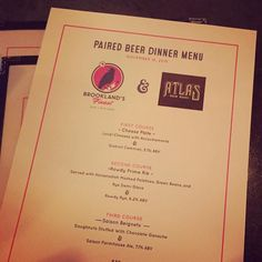 No dinner plans? Great! Come by @brooklands_finest for an amazing menu paired with your favorite Atlas brews! #lasaisondefete #getrowdy #atlasbrewworks by atlasbrewworks