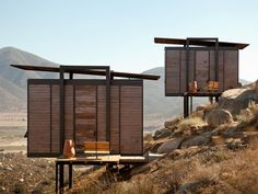 Modern Mini Cabins at Endémico Resguardo Silvestre Hotel: California Dreamin' in Baja