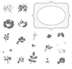 Baby BLossoms Stamp Set