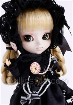 Pullip Nella ALICE and the PIRATES $114.95  ・The doll produced by fashion magazine, ''Gothic & Lolita Bible'' has finally arrived.  ・Based on the concept, ''Gothic & Lolita, travel on the galactic railroad''.  ・Manga Artist, Mitsukazu Mitsuhara drew and designed JOHAN(Isul) clothes, and the clothes NELLA(Pullip) is wearing are from a popular lolita apparel brand  'BABY, THE STARS SHINE BRIGHT'''s sister brand designed by 'ALICE and the PIRATES''!!!!
