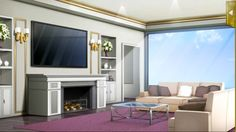 36+ Living room cartoon drawing information