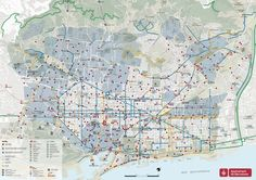 Mapa rutas bicing Barcelona  mapa+bici.jpg 1,600×1,131 píxeles