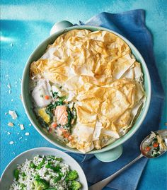 Asda Good Living   Filo pastry fish and vegetable pie