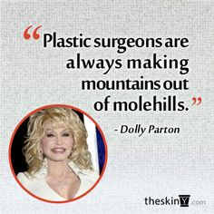 Dolly Parton on Plastic Surgery