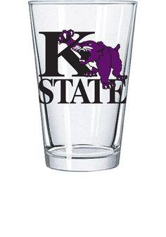 Kansas State Wildcat K over State with Wildcat Pint Glass  http://www.rallyhouse.com/shop/kstate-wildcats-kansas-state-wildcat-k-over-state-with-wildcat-pint-glass-1604301  $7.99