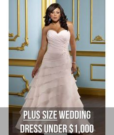 Your Body Shape and Your Wedding Dress: Plus Size Perfection